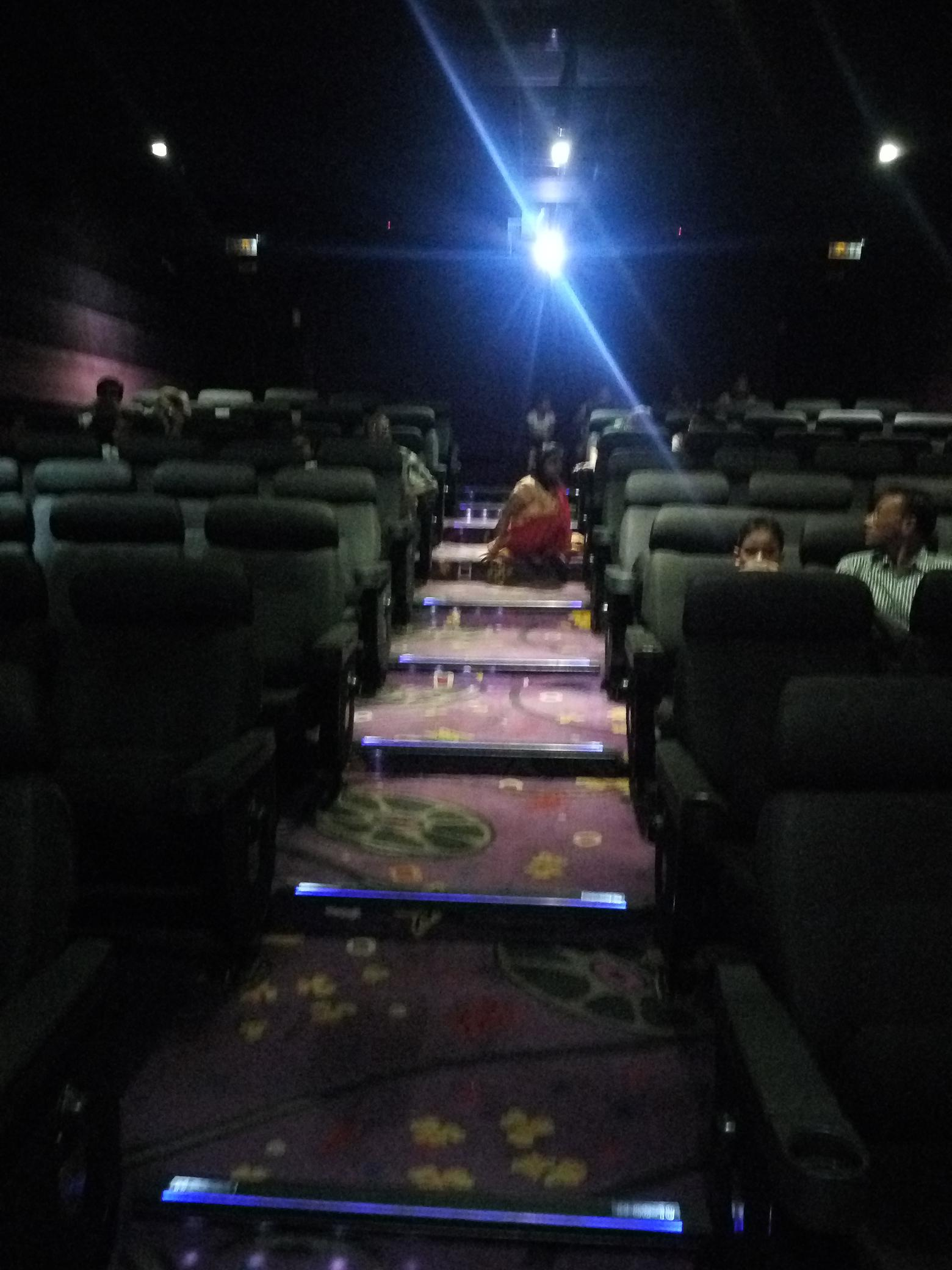 Mukta Cinema hall having more than 9 steps in cinema hall at Centre Square mall Genda Circle Vadodara